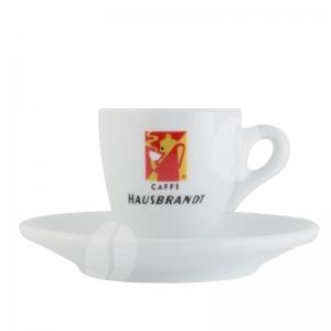 Hausbrandt Espresso kop en schotel