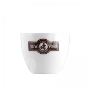 New York Espresso kop en schotel