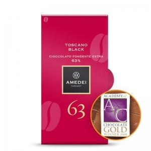 Amedei Dark Chocolate Bar Toscano Black 63%