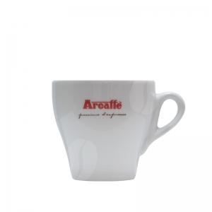 Arcaffè Cappuccino kop en schotel