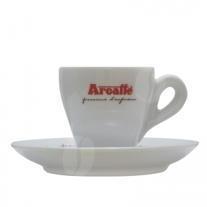 Arcaffè Espresso kop en schotel