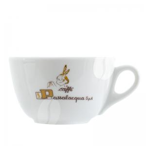 Passalaqua Cappuccino kop en schotel