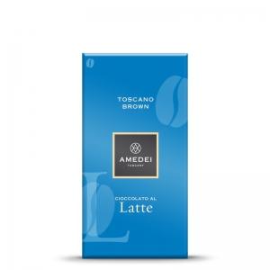 Amedei Milk Chocolate Bar Toscano Brown