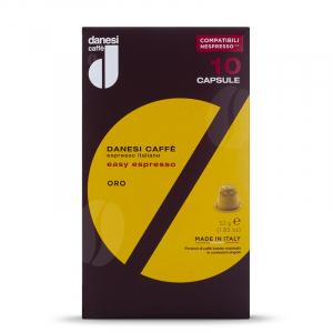 Danesi Espresso Gold Nespresso* capsule