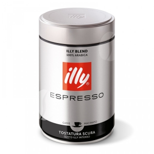 illy Caffe Donkere Branding S Espressomaling