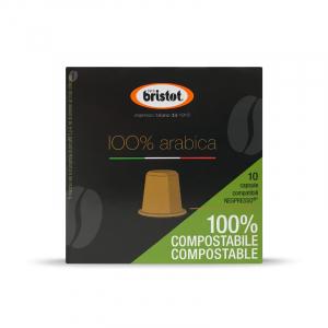 Bristot 100% arabica Nespresso * Capsule