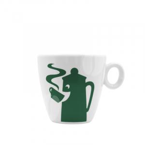 Hausbrandt Cappuccino kop en schotel - design