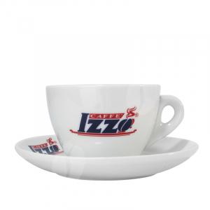 Izzo Cappuccino kop en schotel