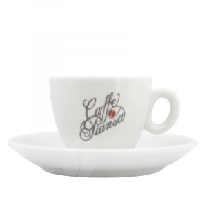 Piansa Espresso kop en schotel