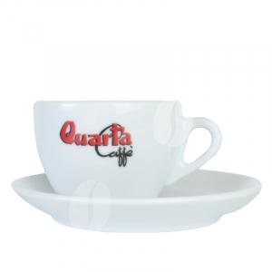 Quarta Cappuccino kop en schotel