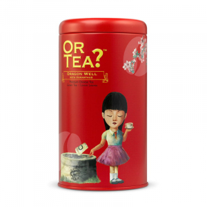 Or Tea? Dragon Well with Osmanthus - losse thee