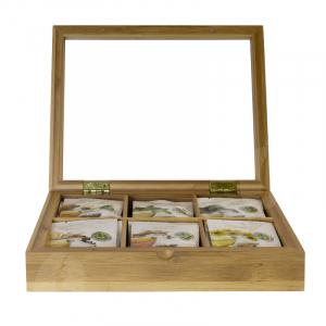 Revolution Tea Luxe Presentatiedoos, 6 vaks, naturel