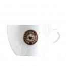 Antica Tostatura Cappuccino kop en schotel
