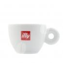 Illy Espresso kop en schotel, 2 stuks