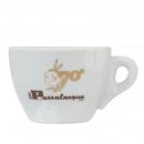 Passalaqua 70 jaar Cappuccino kop en schotel