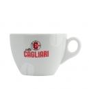 Originele Cagliari Cappuccino kop en schotel
