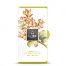 Amedei White Milk Chocolate Bar with Pistachios