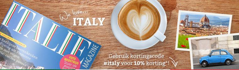 voor lezers van italie magazine