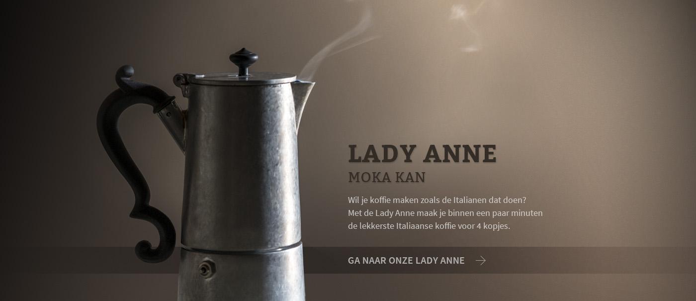 Lady Anne, zonder twijfel het mooiste moka kan