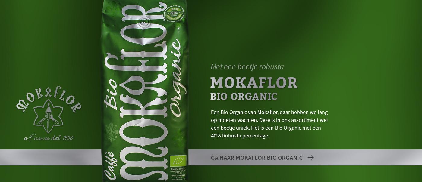 Mokaflor Bio Organic, met een beetje robusta
