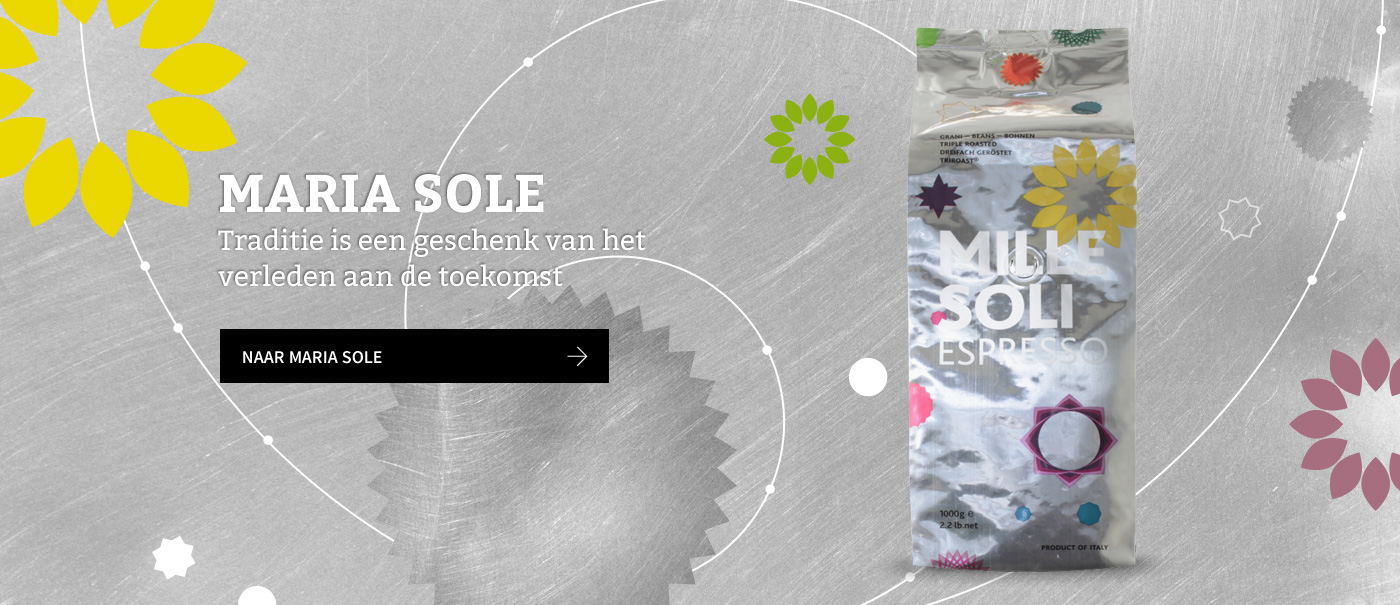 MARIA SOLE. Traditie is een geschenk van het verleden aan de toekomst